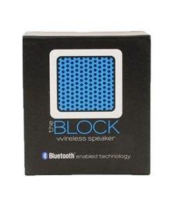 Block Speaker - Bluetooth Mini-Speaker (Blue)