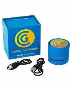 Mini Speaker – CG Light Up Bluetooth Speaker – Teal Set