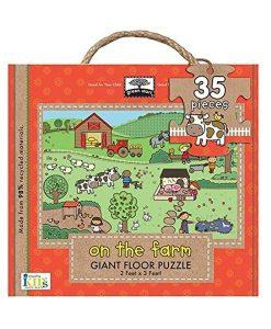 Giant Floor On The Farm Puzzle