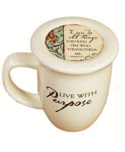 Live With Purpose Mug and Lid