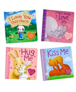 Hug Me, Kiss Me, Love You 4 Book Set