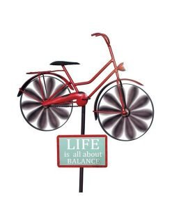Bicycle Wind Spinner with Solar Light