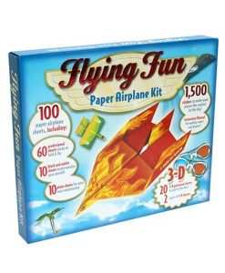 Flying Fun Paper Airplane Kit Side
