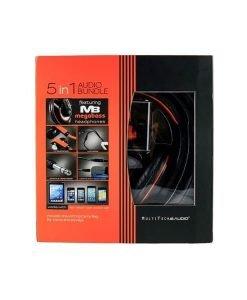 5 in 1 Audio Bundle – Megabass Stereo Headphones - MultiTech Audio
