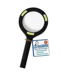 COB LED Magnifying Glass - Super Bright