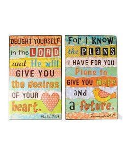 Inspirational Wall Art Set of 2