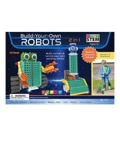 2 in 1 Build Your Own Robot Kit - STEM
