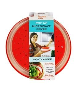 2-in-1 Pop-Up Microwave Cover Colander - Cover