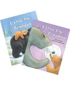 I love You Grandpa - I Love You Grandma - Combo