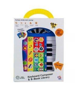 Baby Einstein My First Music Fun Keyboard Composer - 8-Book Library - Front
