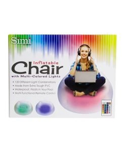 Inflatable Light-Up Chair - Simi