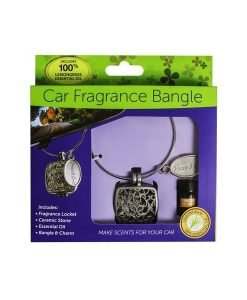 Essential Oil Car Fragrance Bangle and Aroma Stone