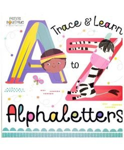 A to Z Trace and Learn Alphaletters - Petite Boutique - Cover