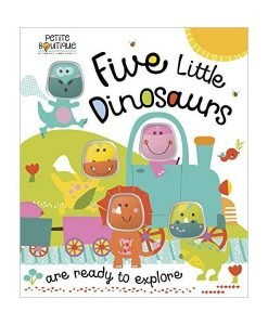 Five Little Dinosaurs - Cover