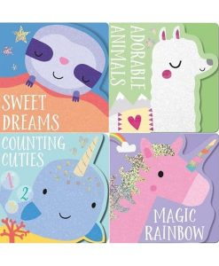 Animal Shaped Board Books - Set of 4 Cover