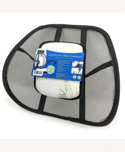 Ergonomic Back Support wBamboo Pillow - Cover