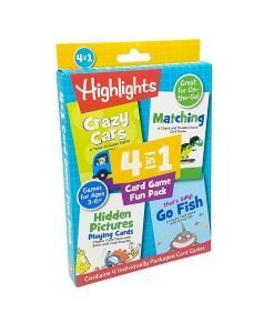Leap Year Highlights 4-in-1 Card Game Fun Pack - Cover