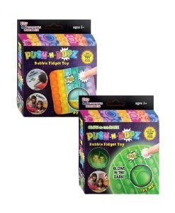 Push N Popz Glow - Rainbow 2 set - Cover